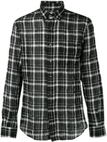 Aspesi plaid shirt - men - Cotton/Polyurethane/Lyocell - 41