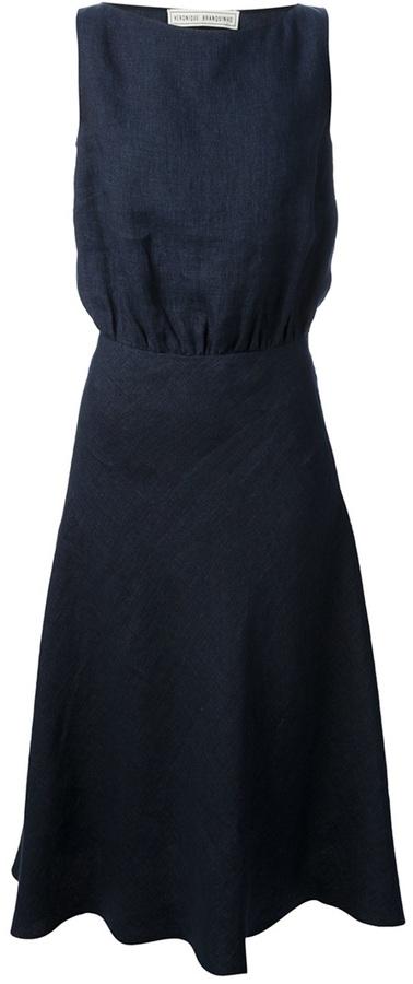 Veronique Branquinho sleeveless A-line dress