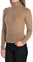 Barbour Terrain Turtleneck Sweater - Lambswool (For Women)