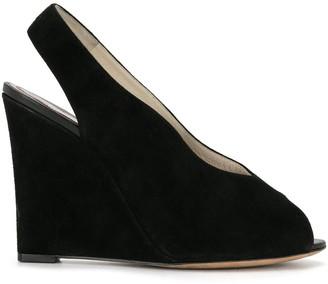 Céline Pre-Owned Pre-Owned Sling-Back Wedge Heels