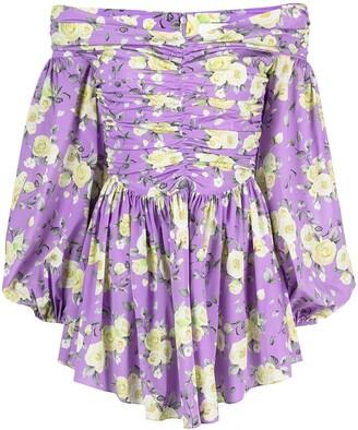 Giuseppe di Morabito Floral Print Mini Dress