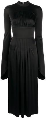 Paco Rabanne Slim-Fit Wide-Sleeves Dress