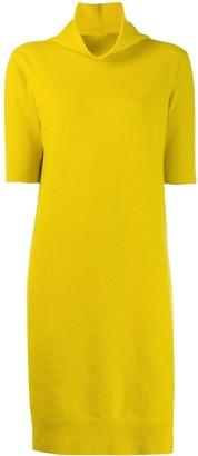 Fabiana Filippi Short-Sleeve Shift Dress