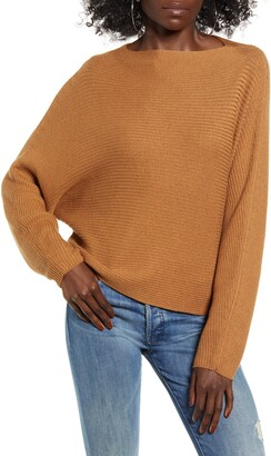 Leith Dolman Sleeve Crop Sweater