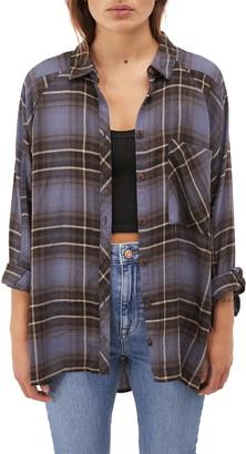 BDG Brendon Plaid Flannel Shirt
