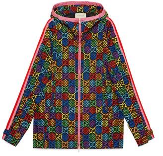 Gucci GG Psychedelic print nylon jacket