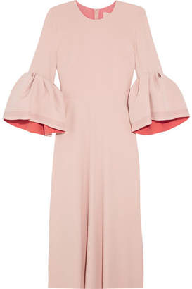 Roksanda Turlin Stretch-crepe Midi Dress - Pastel pink