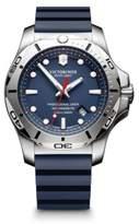 Victorinox Inox Stainless Steel Professional Rubber Strap Watch