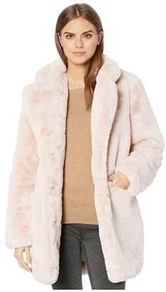 Apparis Sophie 2 Faux Fur Coat (Noir) Women's Jacket
