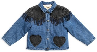 Stella McCartney Kids Fringe Denim Jacket (3-14 Years)