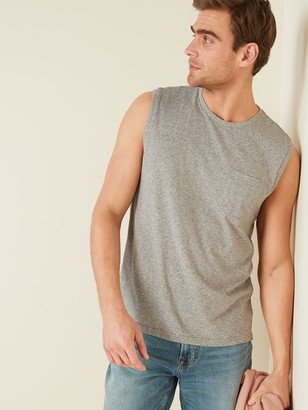 Old Navy Soft-Washed Chest-Pocket Muscle Shirt for Men