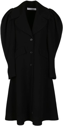 J.W.Anderson Black Wool Coat