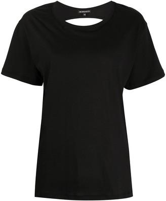 Ann Demeulemeester back cut-out T-shirt
