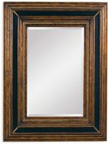 Bassett Mirror Company 43-Inch x 55-Inch Valejio Mirror in Ebony/Gold