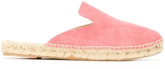Manebi Hamptons backless espadrille loafers