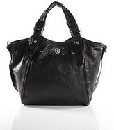 Marc by Marc Jacobs Brown Black Snakeskin Print Detachable Strap Shoulder Handba