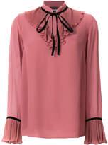 Just Cavalli ruffled blouse