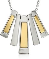"T Tahari Essentials"" 5 Bar Drop Pendant Necklace"