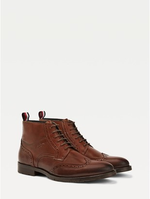 Tommy Hilfiger Brogue Ankle Boot
