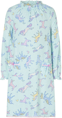 Under Armour Unicorn Print Nightdress Blue
