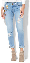 New York & Co. Soho Jeans - Embroidered Boyfriend