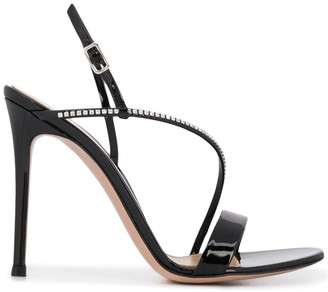 Gianvito Rossi Manhattan 85mm high heel sandals