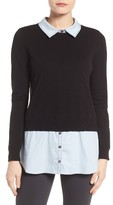 Vince Camuto Women's Layered Look Sweater