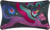Thumbnail for your product : Emma J Shipley - Lynx Cushion - 45x28cm - Navy