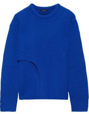 Derek Lam Layered Ribbed Cashmere Sweater