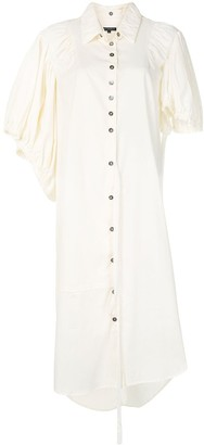 Ann Demeulemeester Button-Down Shirt Dress