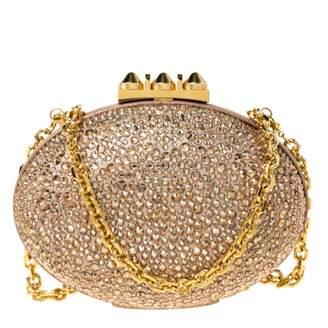 Christian Louboutin Mina clutch Beige Glitter Clutch bags