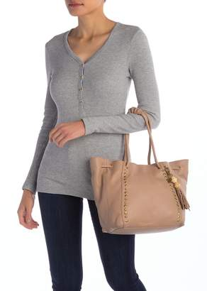 The Sak COLLECTIVE Colfax Leather Studded Tote Bag