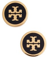 Tory Burch Women's Logo Stud Earrings