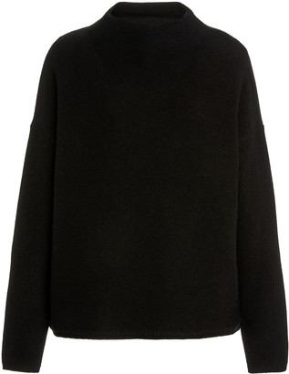 Vince Boiled Cashmere Pullover Sweater