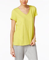 Eileen Fisher Organic Cotton Jersey V-Neck T-Shirt