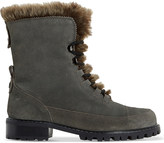 Dune Raleigh faux-fur lined suede boots