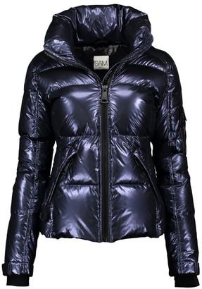 SAM. Freestyle Metallic Down Nylon Puffer Jacket