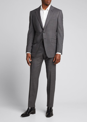Tom Ford Men's O'Connor Micro-Check Wool Suit