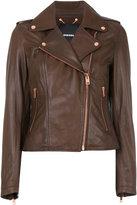 Diesel cropped biker jacket