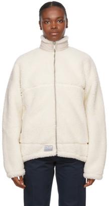 Saintwoods Reversible Beige Sherpa Jacket