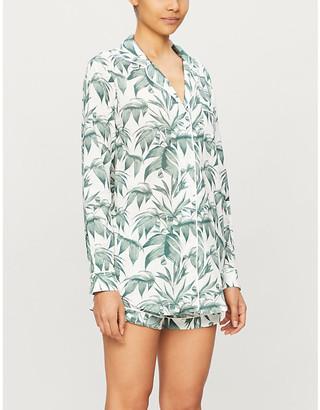 Desmond & Dempsey Byron Signature organic cotton pyjama set