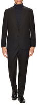 Kenneth Cole New York Wool Checkered Notch Lapel Suit