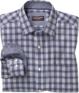 Johnston & Murphy Quad Windowpane Shirt