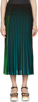 Kenzo Multicolor Plisse Skirt