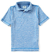 Class Club Little Boys 2T-7 Short-Sleeve Marled Polo Shirt
