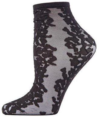 Natori Animal Sheer Shortie Socks