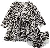 Jessica Simpson Printed Jersey Dress & Bloomers Set (Baby Girls)