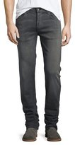 Rag & Bone Fit 3 Straight-Leg Denim Jeans, Silver