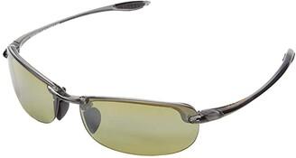 Maui Jim Makaha Reader Asian Fit 2.50 (Smoke Grey/Ht) Sport Sunglasses