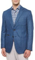 Peter Millar Napoli Soft Two-Button Sport Coat, Navy